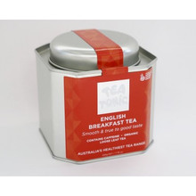 Tea Tonic English Breakfast Caddy Tin 180g