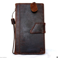Case genuine Leather Cover Nokia Lumia 1520 Pouch Wallet Phone skin Flim magnet free shipping