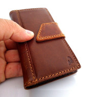 genuine leather fit LG Nexus 5 google Case for book wallet handmade slim cover G free shipping