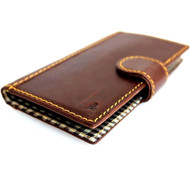 genuine italian leather Case for Samsung Galaxy S4I s 4 book wallet handmade luxury uK