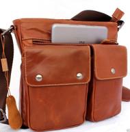 Genuine Leather tote Bag Messenger Briefcase cross men Satchel Shoulder premium free shipping
