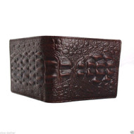 Men Money Clip Genuine italy Leather wallet Coin Pocket Purse crocodile creditcards TA