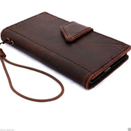 genuine italy leather case for nokia lumia icon cover book wallet credit card magnet luxurey gift