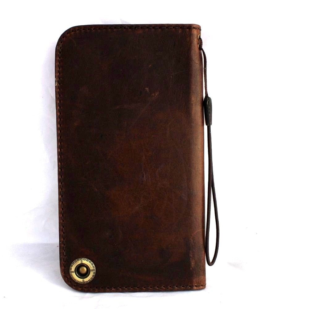 new styles 6315d 96103 genuine italy leather case for iphone 6 cover book wallet credit card  magnet luxurey slim flip free shipping