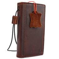 genuine soft leather Case for Samsung Galaxy S4  active SIII s 4 book wallet handmade il