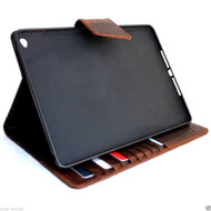 genuine real Leather Bag for apple iPad air 2 case cover handbag stand magnet  luxury slim
