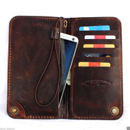 genuine italian leather Case for galaxy note 3 / note 4 / note 5 book wallet cover