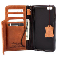 genuine italin leather case for iphone 6 plus cover book wallet band credit card id magnet business slim magnet free shipping  au