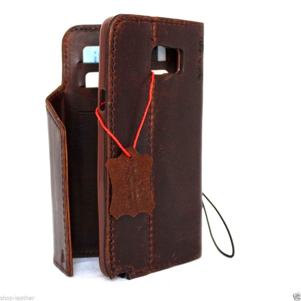 the best attitude d567c b9a10 genuine natural leather Case for Samsung Galaxy note 5 book wallet luxury  cover 5 slim