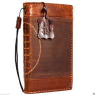 genuine vintage leather Case for Samsung Galaxy note 5 book wallet luxury sport cover 5 slim brown thin daviscase