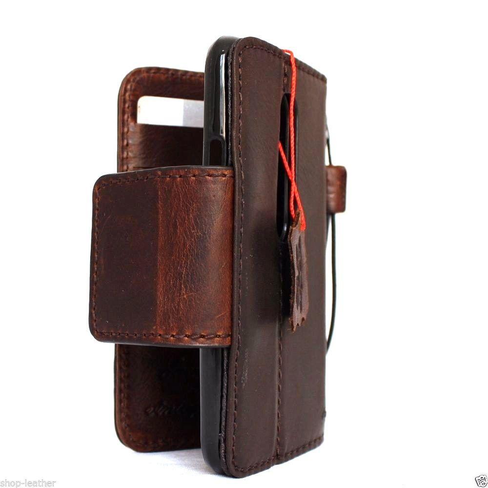 83ba4501bab0 ... Genuine Leather case hard Cover for Motorola Moto G 3rd gen Wallet Phone  skin Retro style clip magnet. Image 1