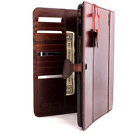 genuine leather for Samsung Galaxy Tab 4 10.1 case cover purse book wallet stand flip T530