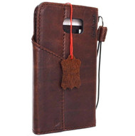 Genuine vintage leather Case for Samsung Galaxy S6 Edge Plus book wallet luxury magnet cover brown cards slots 6 slim s G928A G928F G928A