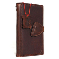 Genuine Vintage real leather Case for Samsung Galaxy S7 Edge book wallet luxury cover 7 slim Retro D