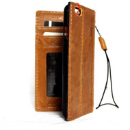 genuine vintage leather case for iphone 6s 6 cover book wallet credit card id safe classic slim luxury JP s