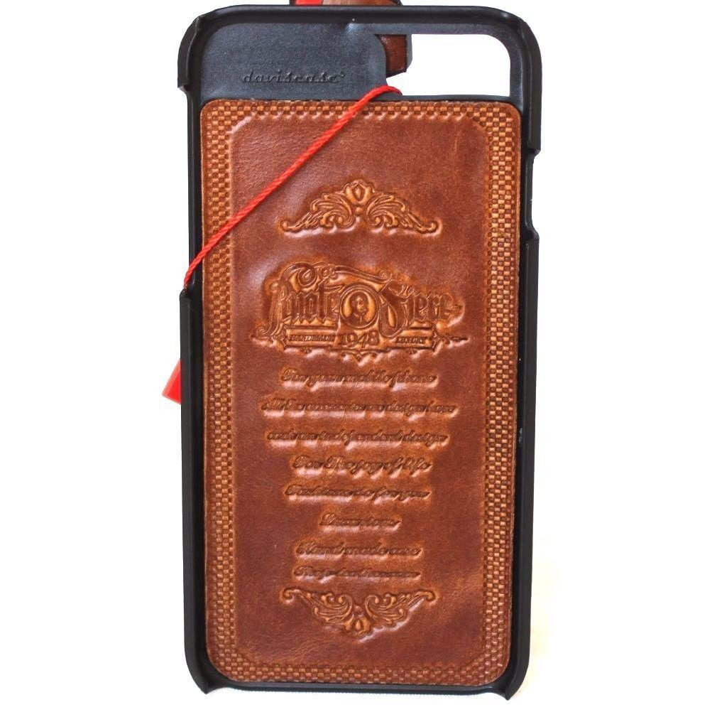 info for 1be45 8bf46 Genuine italian vintage leather slim case for iphone 6 6s cover luxurey  slim classic thin vintage style hard