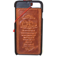 Genuine italian vintage leather slim case for iphone  6 6s cover  luxurey  slim classic thin vintage style hard