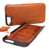 Genuine Real leather case for iphone  6 6s plus case cover classic slim davis case thin vintage style +