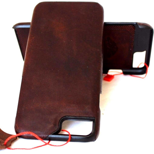 for Apple 6 6s  iphone 7 handmade real leather case slim (10)