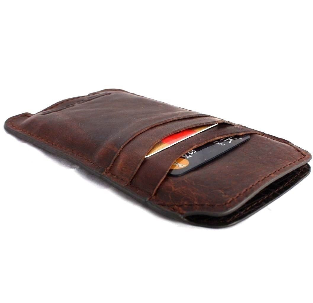 buy online 90343 914d5 genuine italy leather case for LG G3 cover wallet credit card luxurey slim  R brown thin