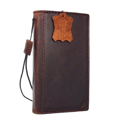 Genuine vintage leather for samsung galaxy s8 Case book wallet luxury 8 s Daviscase