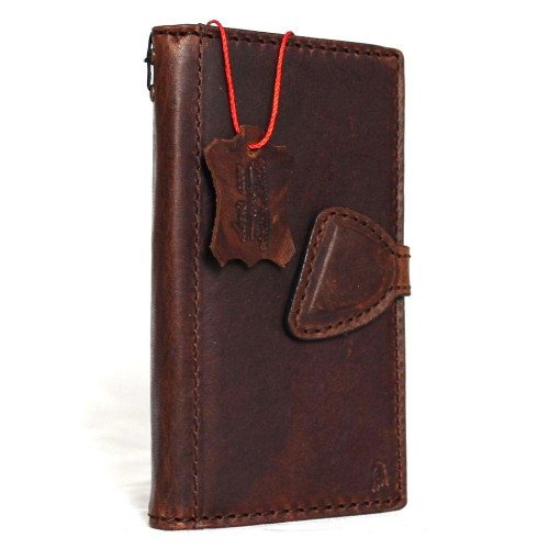 Genuine vintage leather for samsung galaxy s8 Case book wallet luxury 8 s Daviscase magnetic 6