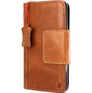 Genuine vintage leather Case for LG G6 book wallet magnet cover luxury light brown handmade slim Daviscase H870 H870K H870V H870S