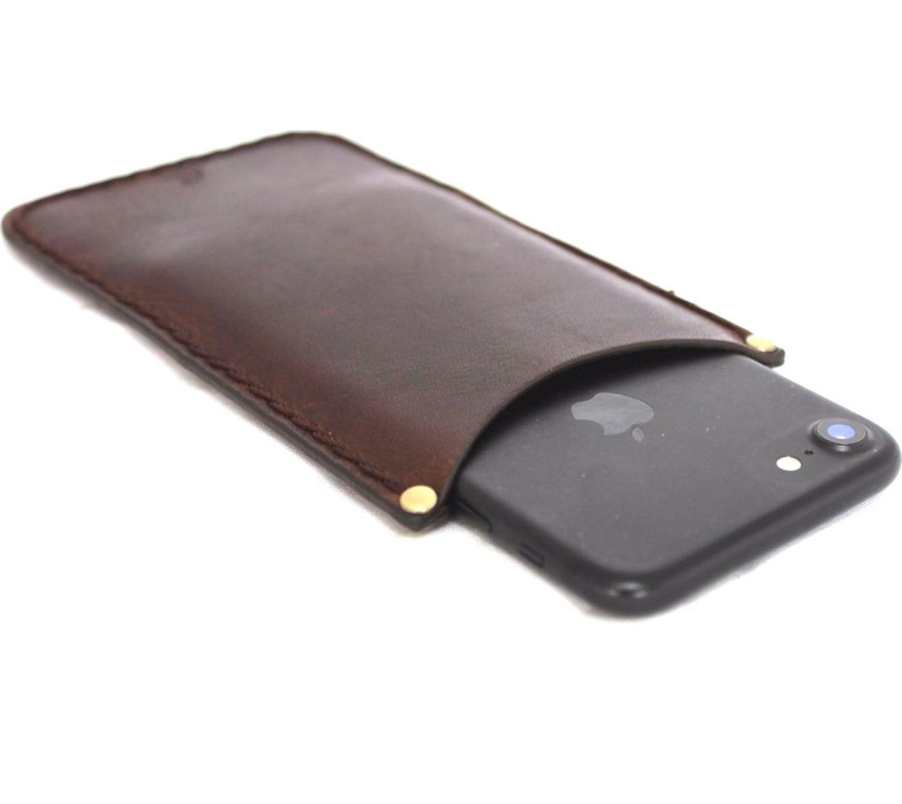 official photos 54248 3062a genuine leather Case for apple iphone 6 6s plus thin cover slim holder Davis