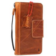 Genuine  vintage leather Case for Google Pixel XL 2 book wallet holder luxury magnetic cover pro JP