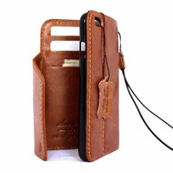 Genuine Real leather slim case for iphone 8 plus cover book wallet credit card luxurey flip slim magnetic PREMIUM 3D Jafo il