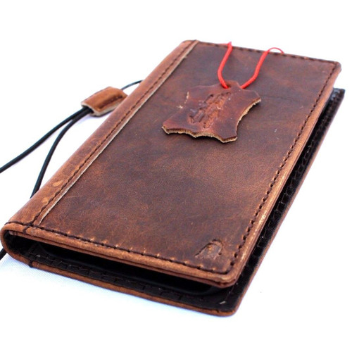 Genuine real leather Case for apple iphone 6s book wallet cover s 6 holder card Jafo