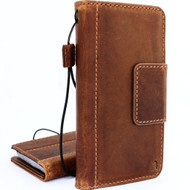 Genuine Tan vintage leather case for samsung galaxy s9 plus book wallet luxury magnet gel cover slim Holder  Jafo