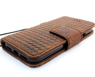Genuine real leather Case for iPhone x vintage cover credit cards Removable detachable magnetic slots luxury lite Daviscase 10 Jafo usa