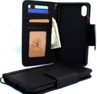 Genuine real leather Case for iPhone XS MAX vintage handmade black cover credit cards classuc slots bibleTan book luxury holder lite Daviscase