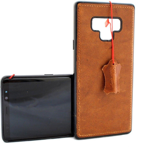 Genuine leather case for Samsung Galaxy Note 9 book handmade cover slim magneticsoft holder Daviscase vintage pro