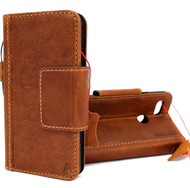 Genuine oiled vintage leather Case for Google Pixel XL 3 book magnetic holder wallet luxury cover soft holder Davis DE