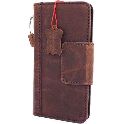 Genuine vintage leather Case for Google Pixel XL 3 book magnetic holder wallet luxury cover soft holder Davis xl3