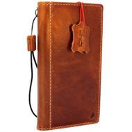 Genuine oiled vintage leather Case for Google Pixel XL 3 book rubber holder wallet luxury Tan cover pro Davis jp