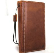 genuine oil leather Case for apple iphone XR wallet luxury cover flip strap rubber