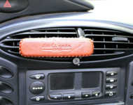 Genuine leather phone cover handmade Strong magnetic car holder air vent Mobile Jafo