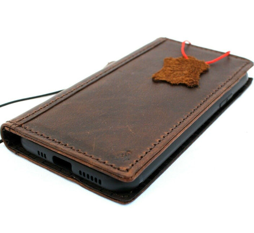 Genuine oiled vintage leather Case for Google Pixel 4 XL  book rubber holder wallet luxury cover pro Davis