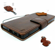 Genuine Real leather Case for samsung Galaxy note 10 handmade cover wallet book retro rubber flip luxury Soft cards id Removable + Airpods 2