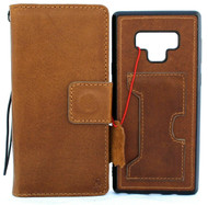 Genuine retro leather case for samsung galaxy note 9 detachable book wallet cover Jafo soft holder cards slots wireless charging