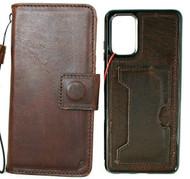 Genuine Vintage Leather Case for Galaxy S20 PLUS Soft Wallet Handmade Wireless DAVIS