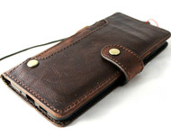 Genuine Vintage Leather Case for Galaxy S20 PLUS Soft Wallet Handmade Wireless luxury DAVIS