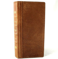 Genuine Soft Leather Case for Samsung Galaxy S20 Ultra Wallet Book bible style Tanned cover Davis