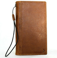 Genuine Natural Leather Case for Samsung Galaxy S20 PLUS Tan Wallet Book Luxury DAVIS pro