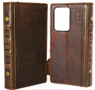 Genuine Leather Case for Samsung Galaxy S20 PLUS Soft Wallet Book Bible Luxury Davis Vintage