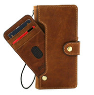 Genuine Tanned Leather Case for Samsung Galaxy Note 20 Ultra 5G book wallet handmade rubber credit cards holder cover wireless charging Davis