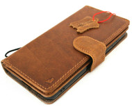 Genuine Tan Leather Case for Samsung Galaxy S21 Plus 5G Credit Cards Wallet Book Luxury Detachable Magnetic Cover Classic Soft Davis
